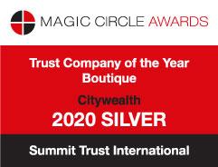 Magic circle award Trust company of the year 2020